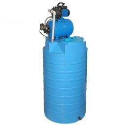 Бак для воды Aquatec ATV-500 с автоматической насосной станцией JP 600PA тип 2