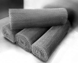 Сетка рабица d=1,8 мм, ячейка 50x50 мм, 1500x1000 мм, оцинкованная