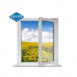 Окно ПВХ Veka 600х600 мм одностворчатое ПО 1 стеклопакет