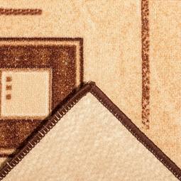 Ковролин Нева-Тафт Архимед 1723 бежевый 2 м рулон