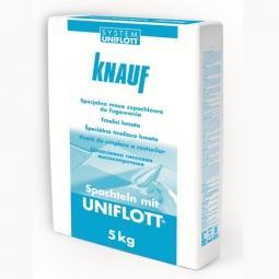 Шпатлевка Knauf Унифлот гипсовая высокопрочная  5 кг