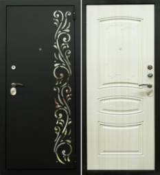 Металлическая дверь Турин, Йошкар-Ола, 860*2050, сандал белый