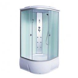 Кабина душевая Aquacubic 3103B 1000х1000х2200 мм Fabric white