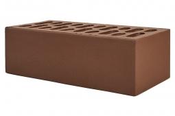 Кирпич лицевой керамический Шоколад пустотелый полуторный