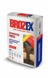 Смесь Brozex Пескобетон М-300 высокопрочная 1т (МКР)