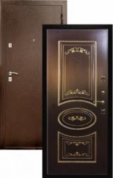 Металлическая дверь Патрисия, Йошкар-Ола, 960*2050, патина золото орех