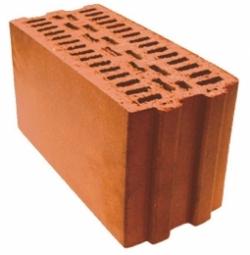 Камень керамический Кемма 7.7 НФ 380х180х219 с пазом и гребнем