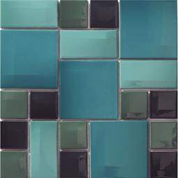 Мозаика Vitra Day-to-Day 300х300 голубая глянцевая 5400808