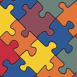 Линолеум IVC Neo Puzzle 50 3 м рулон