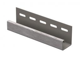 J-планка Ю-Пласт Тимбер-Блок Дуб серебристый