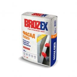 Штукатурка Brozex Фасад CP-320 цементная гидрофобная 25 кг