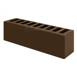 Кирпич лицевой керамический «Шоколад» пустотелый Евро утолщенный