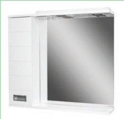 Шкаф-зеркало Домино Cube 65 левый с электрикой DC5006HZ