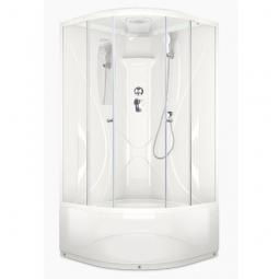 Душевая кабина Domani Spa Elegance high 900х900х2180 прозрачное стекло, акриловая панель Б/Э