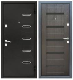 Металлическая дверь УД-145, Йошкар-Ола, 860*2050, венге