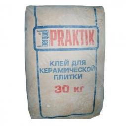 Клей Bergauf Praktik для керамической плитки 30 кг